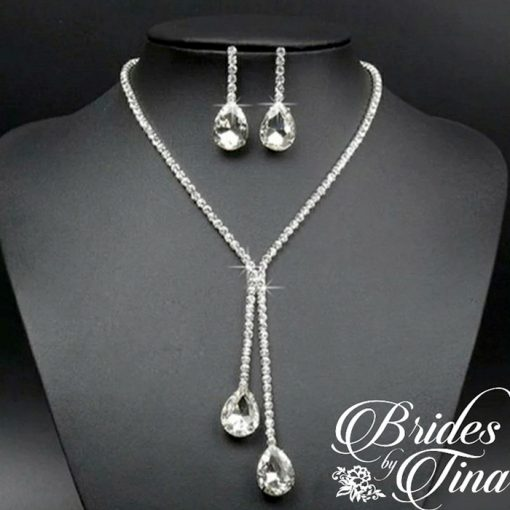Wedding Necklace and Earring Set